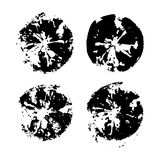 Διανυσματικό σύνολο κηλίδων Στοκ φωτογραφία με δικαίωμα ελεύθερης χρήσης