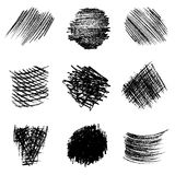 Διανυσματικό σύνολο μολυβιού που εκκολάπτει 1 Στοκ Εικόνες