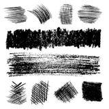 Διανυσματικό σύνολο μολυβιού που εκκολάπτει 2 Στοκ φωτογραφία με δικαίωμα ελεύθερης χρήσης