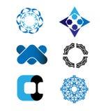 Διανυσματικό σύνολο λογότυπων Στοκ φωτογραφίες με δικαίωμα ελεύθερης χρήσης