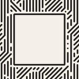 Διανυσματικό τετραγωνικό πλαίσιο σημείων Στοκ Φωτογραφία