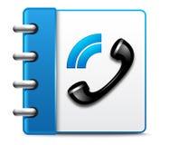 Διανυσματικό τηλεφωνικό εικονίδιο Στοκ φωτογραφίες με δικαίωμα ελεύθερης χρήσης
