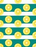 Διανυσματικό υπόβαθρο ανανά Διανυσματικό άνευ ραφής σχέδιο ανανά Στοκ εικόνες με δικαίωμα ελεύθερης χρήσης