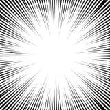 Διανυσματικό υπόβαθρο γραμμών ταχύτητας κόμικς Στοκ φωτογραφία με δικαίωμα ελεύθερης χρήσης