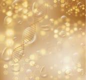 Διανυσματικό υπόβαθρο δομών σκελών DNA eps10 να γεμίσει προτύπων λουλουδιών πορτοκαλιά rac ric ράβοντας ριγωτή διανυσματική ταπετ ελεύθερη απεικόνιση δικαιώματος