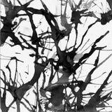 Διανυσματικό υπόβαθρο λεκέδων μελανιού χρωμάτων Grunge Στοκ Εικόνα