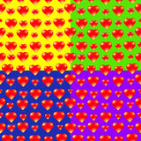 Διανυσματικό υπόβαθρο καρδιών Στοκ εικόνα με δικαίωμα ελεύθερης χρήσης