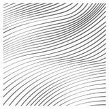 Διανυσματικό υπόβαθρο κυμάτων τέχνης γραμμών Στοκ φωτογραφία με δικαίωμα ελεύθερης χρήσης