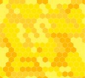 Διανυσματικό υπόβαθρο κυψελωτού Abstarct, γεωμετρικό σχέδιο Semless Στοκ Εικόνες