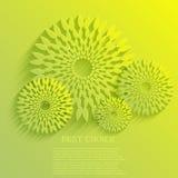 Διανυσματικό υπόβαθρο λουλουδιών. Eps10 Στοκ φωτογραφίες με δικαίωμα ελεύθερης χρήσης