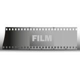 Διανυσματικό υπόβαθρο ταινιών Στοκ εικόνες με δικαίωμα ελεύθερης χρήσης