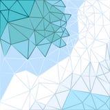 Διανυσματικό υπόβαθρο των τριγώνων στις κρύες σκιές Στοκ Εικόνες