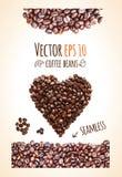 Διανυσματικό υπόβαθρο φασολιών καφέ με τη θέση για το κείμενό σας στοκ φωτογραφία με δικαίωμα ελεύθερης χρήσης