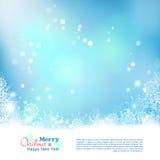 Διανυσματικό υπόβαθρο Bokeh Χριστουγέννων αφηρημένο Στοκ εικόνα με δικαίωμα ελεύθερης χρήσης