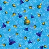 Διανυσματικό χειμερινό siemles σχέδιο Blu Στοκ Φωτογραφία