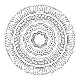 Διανυσματικό όμορφο Deco Mandala Στοκ Εικόνες