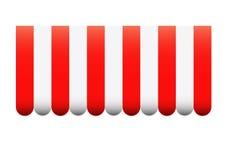 Διανυσματικό awning Στοκ Εικόνες