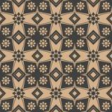 Διανυσματικό damask άνευ ραφής αναδρομικό σχεδίων υποβάθρου πολυγώνων γεωμετρίας καλειδοσκόπιο λουλουδιών αστεριών διαγώνιο Κομψό απεικόνιση αποθεμάτων