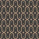 Διανυσματικό damask άνευ ραφής αναδρομικό σχεδίων υποβάθρου πολυγώνων καλειδοσκόπιο αστεριών πλαισίων γεωμετρίας διαγώνιο Κομψό σ διανυσματική απεικόνιση