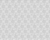 Διανυσματικό damask άνευ ραφής τρισδιάστατο υπόβαθρο 292 σχεδίων τέχνης εγγράφου διαγώνια γεωμετρία πολυγώνων Στοκ εικόνες με δικαίωμα ελεύθερης χρήσης