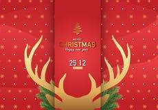 Διανυσματικό Ep3 απεικόνισης υποβάθρου Χαρούμενα Χριστούγεννας 1 Στοκ εικόνες με δικαίωμα ελεύθερης χρήσης