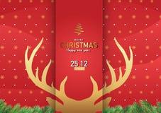Διανυσματικό Ep3 απεικόνισης υποβάθρου Χαρούμενα Χριστούγεννας 3 Στοκ φωτογραφία με δικαίωμα ελεύθερης χρήσης
