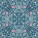 Διανυσματικό floral σχέδιο seamles Στοκ Φωτογραφία