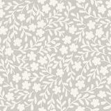 Διανυσματικό floral υπόβαθρο, άνευ ραφής διανυσματική απεικόνιση