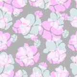 Διανυσματικό floral υπόβαθρο άνοιξη Στοκ Φωτογραφίες