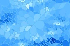Διανυσματικό floral υπόβαθρο των συρμένων γραμμών Στοκ εικόνα με δικαίωμα ελεύθερης χρήσης