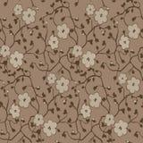 Διανυσματικό floral υπόβαθρο Στοκ Εικόνες