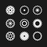 Διανυσματικό gearwheel Στοκ φωτογραφία με δικαίωμα ελεύθερης χρήσης