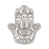 Διανυσματικό hamsa doodle Στοκ εικόνες με δικαίωμα ελεύθερης χρήσης