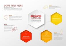 Διανυσματικό infographic πρότυπο εκθέσεων Στοκ φωτογραφίες με δικαίωμα ελεύθερης χρήσης