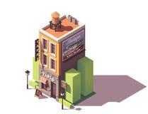 Διανυσματικό isometric εστιατόριο tapas Στοκ εικόνες με δικαίωμα ελεύθερης χρήσης