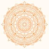 Διανυσματικό mandala Στοκ εικόνα με δικαίωμα ελεύθερης χρήσης