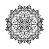 Διανυσματικό mandala Doodle Στοκ εικόνα με δικαίωμα ελεύθερης χρήσης