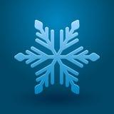 Διανυσματικό snowflake. Στοκ Εικόνες