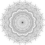 Διανυσματικό tatoo mandala απεικόνιση αποθεμάτων