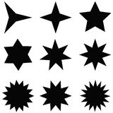 Διανύσματα αστεριών διανυσματική απεικόνιση