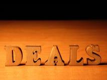 Διαπραγματεύσεις λέξης στοκ φωτογραφία με δικαίωμα ελεύθερης χρήσης