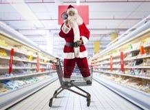 Διαπραγματεύσεις Χριστουγέννων Στοκ φωτογραφία με δικαίωμα ελεύθερης χρήσης