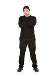 Διαρρήκτης: Κλέφτης ληστών σκληρών ανδρών Στοκ φωτογραφία με δικαίωμα ελεύθερης χρήσης
