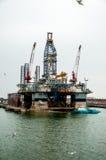 Διαρροή πετρελαίου Στοκ Εικόνες