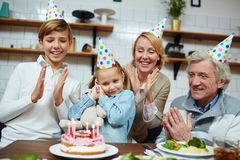 Διασκέδαση γενεθλίων Στοκ εικόνα με δικαίωμα ελεύθερης χρήσης