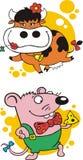 διασκέδαση ζώων Στοκ Εικόνες