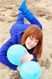 διασκέδαση μπαλονιών Στοκ Εικόνα