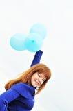 διασκέδαση μπαλονιών Στοκ φωτογραφίες με δικαίωμα ελεύθερης χρήσης