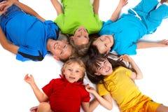 διασκέδαση παιδιών που έχ&ep Στοκ εικόνα με δικαίωμα ελεύθερης χρήσης