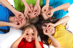 διασκέδαση παιδιών που έχ&ep στοκ εικόνες